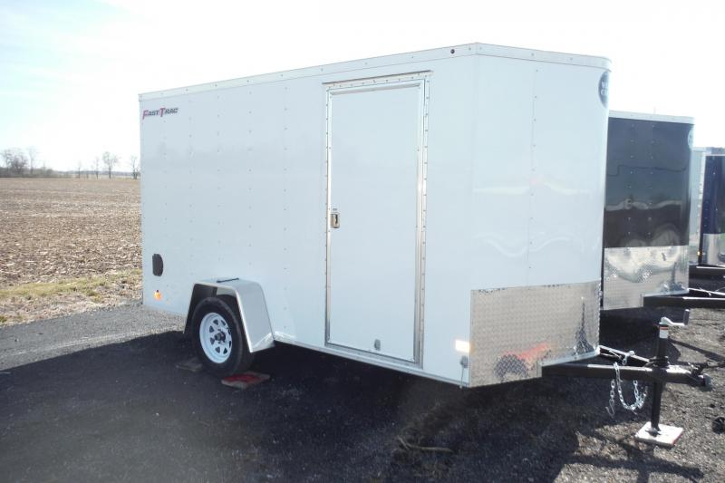2020 Wells Cargo 6 X 12 FASTRAC Enclosed Cargo Trailer