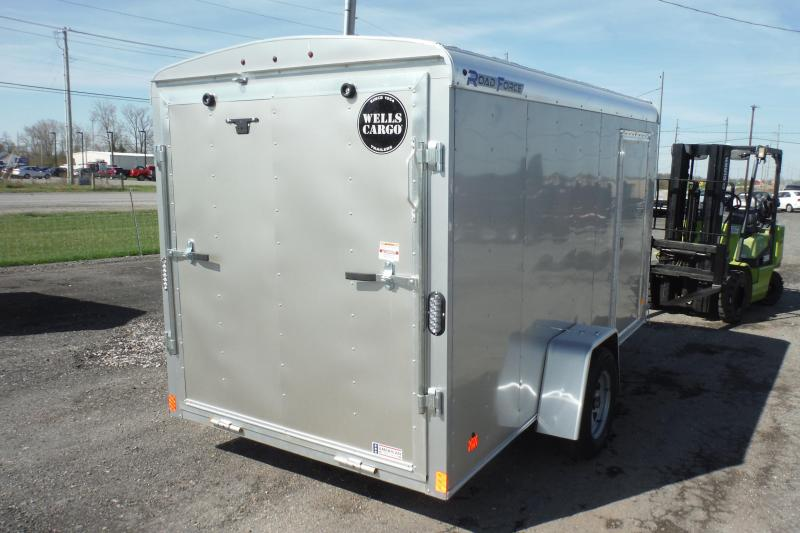 2020 Wells Cargo 6X12 ROADFORCE Enclosed Cargo Trailer