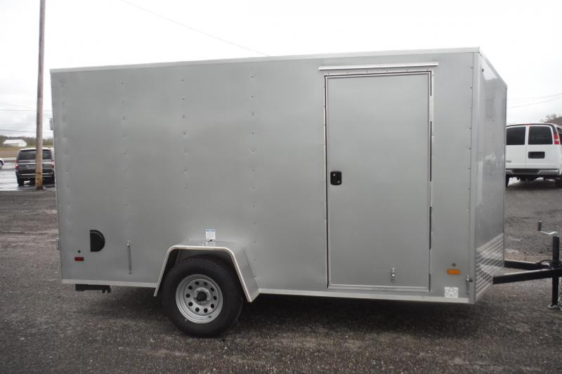 2020 US Cargo 6 X 12 V NOSE Enclosed Cargo Trailer