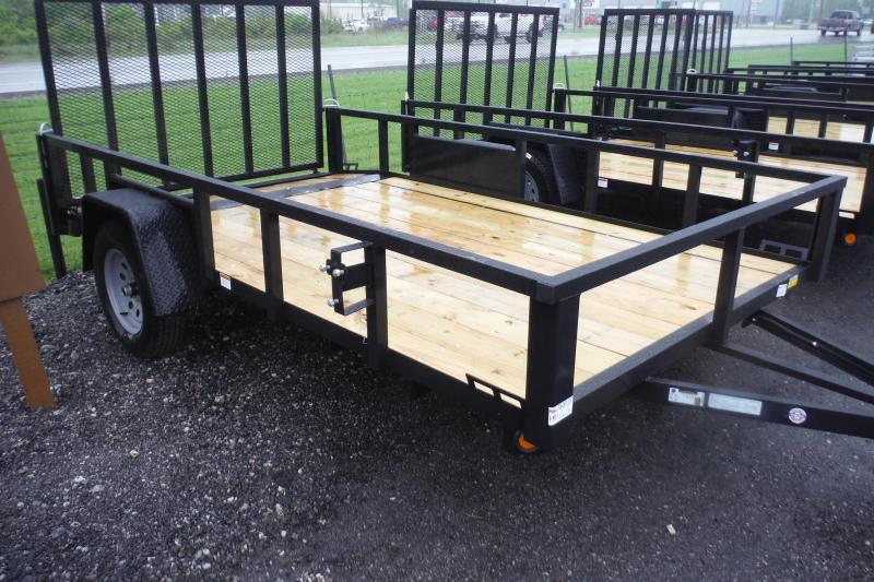 2021 Quality Steel and Aluminum 82 X 12 LANDSCAPE BEAVERTAIL Utility Trailer