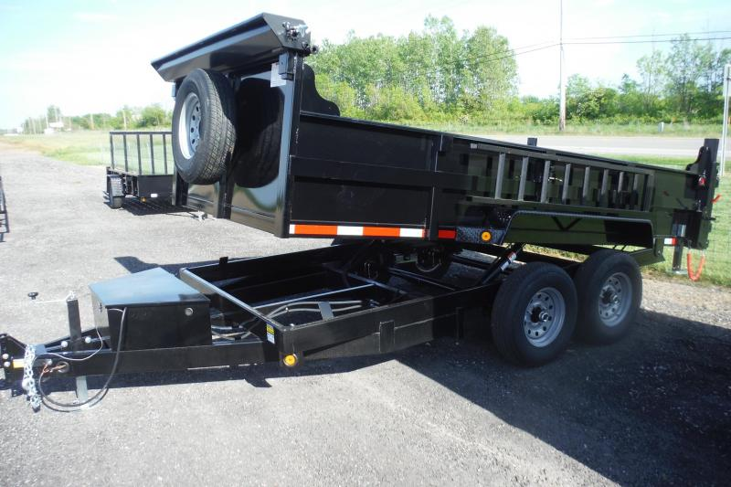 2021 Quality Steel and Aluminum 83 X 14 FT DUMP 14000 LB Dump Trailer