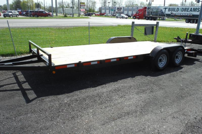 2020 Quality Steel and Aluminum 83 X 20 CAR HAULER 10400 AXLES Car / Racing Trailer