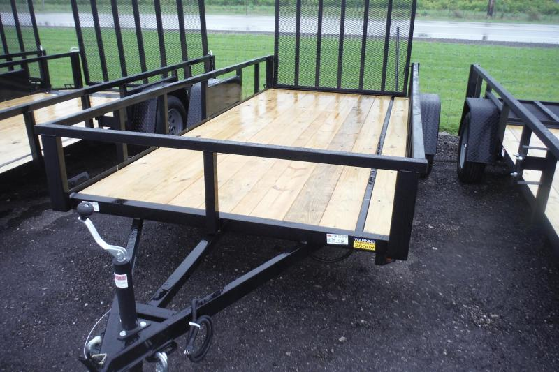 2021 Quality Steel and Aluminum 82 X 12 LANDSCAPE  Utility Trailer