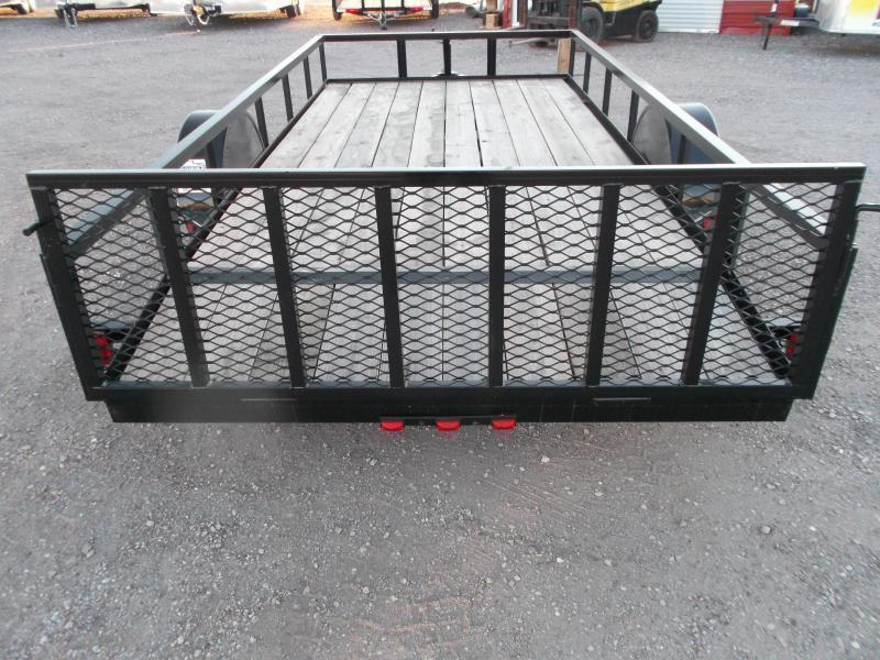 2020 Longhorn Trailers 77x14 Single Axle Utility Trailer w/ 2ft Dovetail / 2ft Ramp Gate