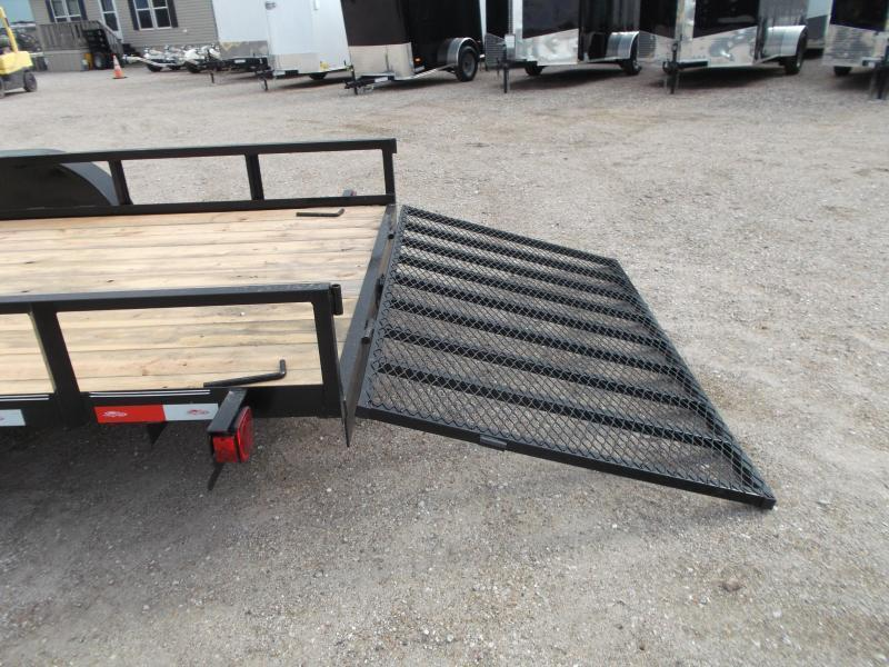 2020 Longhorn Trailers 83x20 Utility Trailer / 4ft Ramp Gate / Electric Brakes