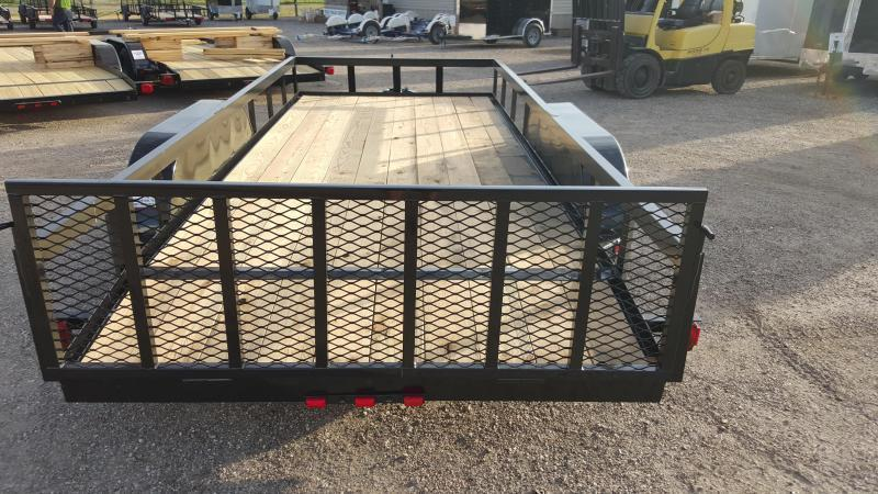 2020 Longhorn Trailers 14ft Utility Trailer w/ 2ft Dovetail / 2ft Ramp Gate