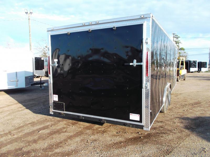 2020 TX Select 8.5x24 Tandem Axle Cargo Trailer / Enclosed Trailer / Car Hauler / 5200# Axles / Ramp / LEDs