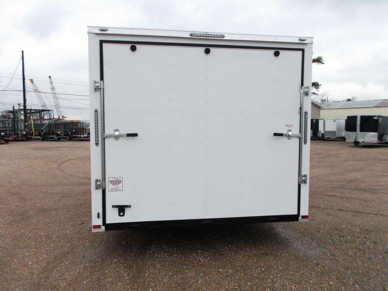 SPECIAL - 2019 Lark 8.5x20 Tandem Axle Cargo Trailer / Car Hauler / 5200# Axles / Heavy Duty Ramp / LEDs
