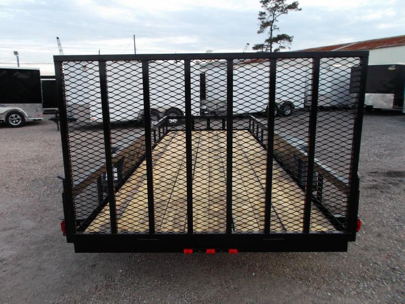 2020 Longhorn Trailers 18ft Utility Trailer w/ 4ft Heavy Duty Ramp