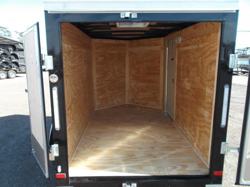 2020 Covered Wagon Trailers 5x8 Single Axle Cargo / Enclosed Trailer / Barn Doors / RV Side Door / LEDs