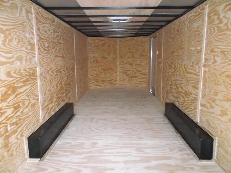 SPECIAL - 2020 Lark 8.5x24 Tandem Axle Cargo Trailer / Enclosed Trailer / Car Hauler / 5200# Axles / 7ft Interior / Ramp / LEDs