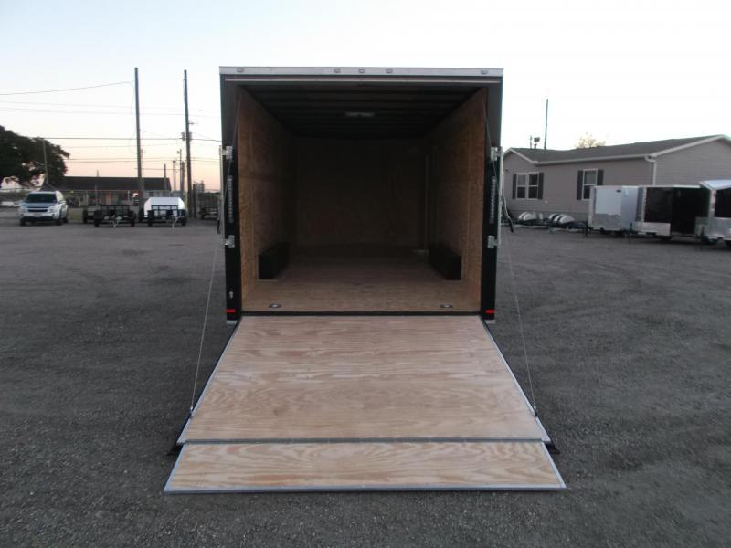 2020 Covered Wagon Trailers 8.5x20 Tandem Axle Cargo / Enclosed Trailer / 7ft Interior / 5200# Axles / RV Side Door / LEDs