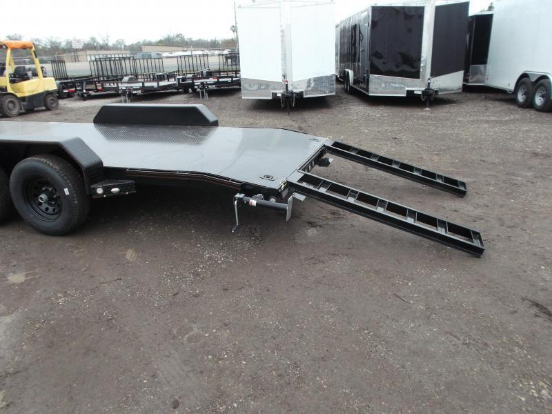 2020 Maxxd 83X20 10K Steel Deck Car Hauler / Racing Trailer / Powder Coated / Steel Deck / 5200# Axles / Dovetail