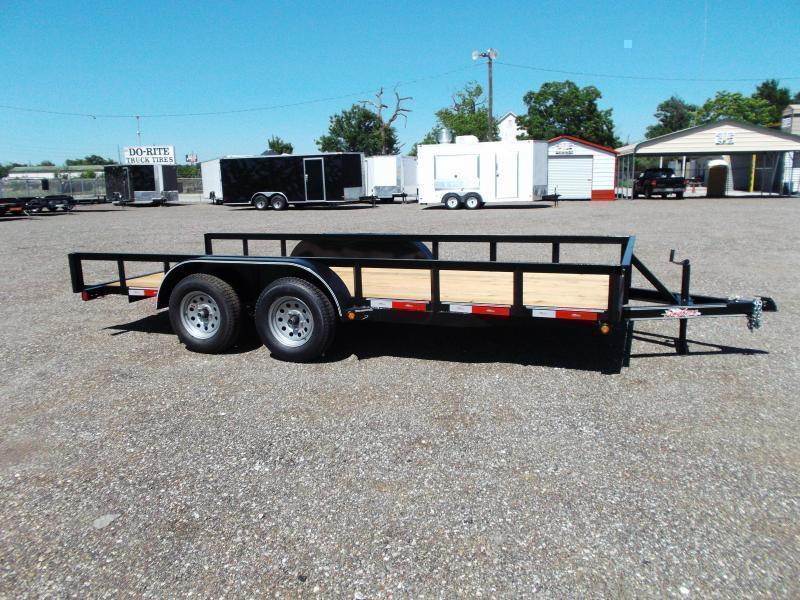 2020 Longhorn Trailers 16ft Tandem Axle Utility Trailer