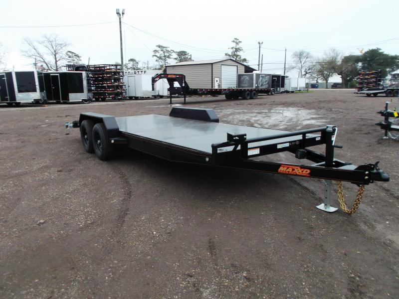 2020 Maxxd 83X20 10K Steel Deck Car Hauler / Racing Trailer / Powder Coated / Steel Deck / 5200# Axles / Dovetail