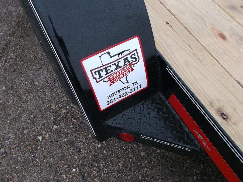 2020 Longhorn Trailers 20ft 7K Car Hauler / Racing Trailer / 2ft Dovetail / 5ft Ramps / Brakes