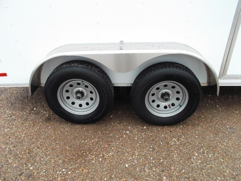 2020 Covered Wagon Trailers 6x12 Tandem Axle Cargo Trailer / Enclosed Trailer / Ramp / RV Door / LEDs