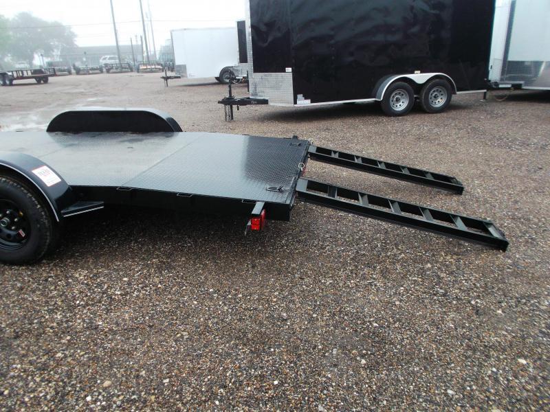 2020 Maxxd 83x20 Steel Deck Car Hauler / Racing Trailer / Powder Coated / 5ft Ramps / 4ft Dovetail