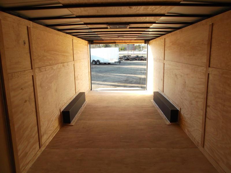2020 TX Select 8.5x24 Tandem Axle Cargo Trailer / Enclosed Trailer / Car Hauler / 5200# Axles / Ramp / LEDs