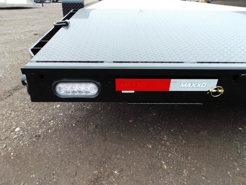 2020 Maxxd 83X20 7K Car Hauler / Racing Trailer / Powder Coated / Treated Wood / 3500# Axles / 4ft Dovetail / LEDs