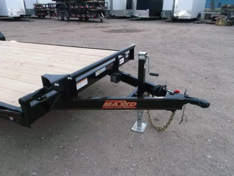 2020 Maxxd 83X20 10K Car Hauler / Race Car Trailer / Flatbed Trailer / Equipment Trailer / Powder Coated / 5200# Axles / LEDs