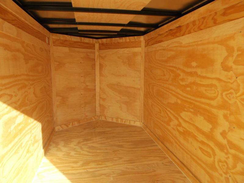 SPECIAL - 2020 Covered Wagon Trailers 5x10 Single Axle Cargo Trailer / Enclosed Trailer / Ramp / LEDs