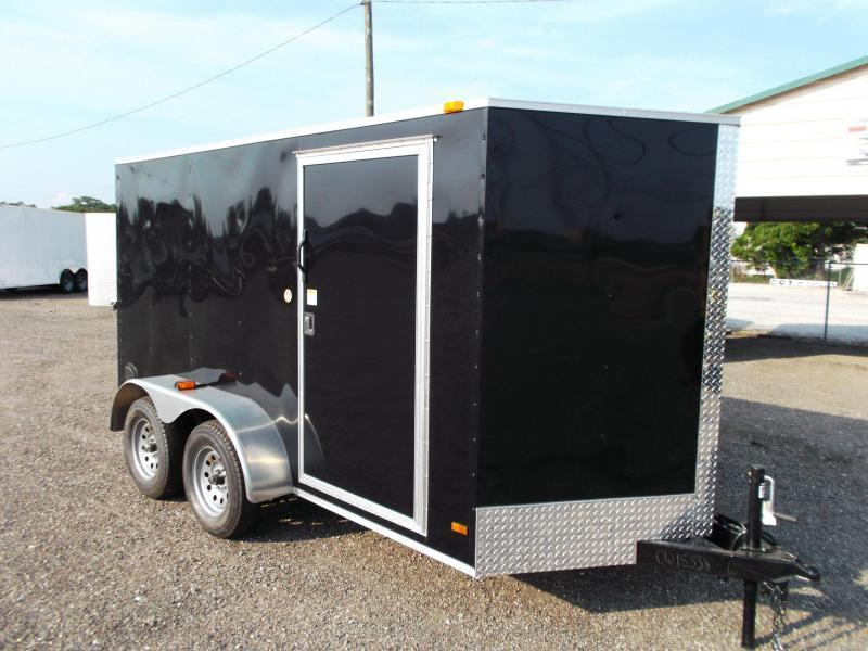 "SPECIAL - 2020 Covered Wagon Trailers 6x12 Tandem Axle Cargo Trailer / Enclosed Trailer / Ramp / RV Side Door / 6'6"" Interior Height Upgrade"