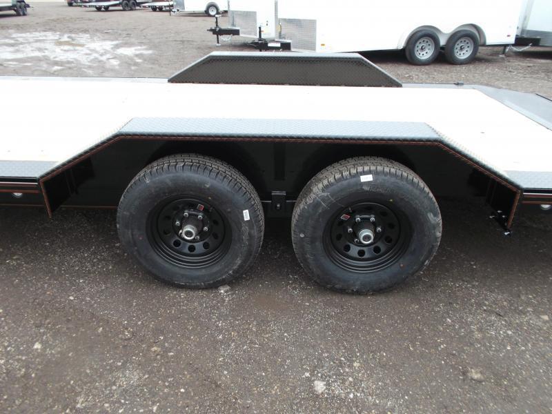 "2020 Maxxd 102""x20' 10K Car Hauler / Racing Trailer / Flatbed / Drive Over Fenders / 5200# Axles / Powder Coated / LEDs"