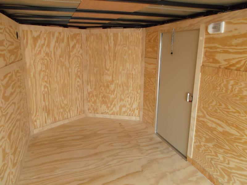 SPECIAL - 2020 Covered Wagon Trailers 7x14 Tandem Axle Cargo Trailer / Enclosed Trailer / Ramp / RV Side Door