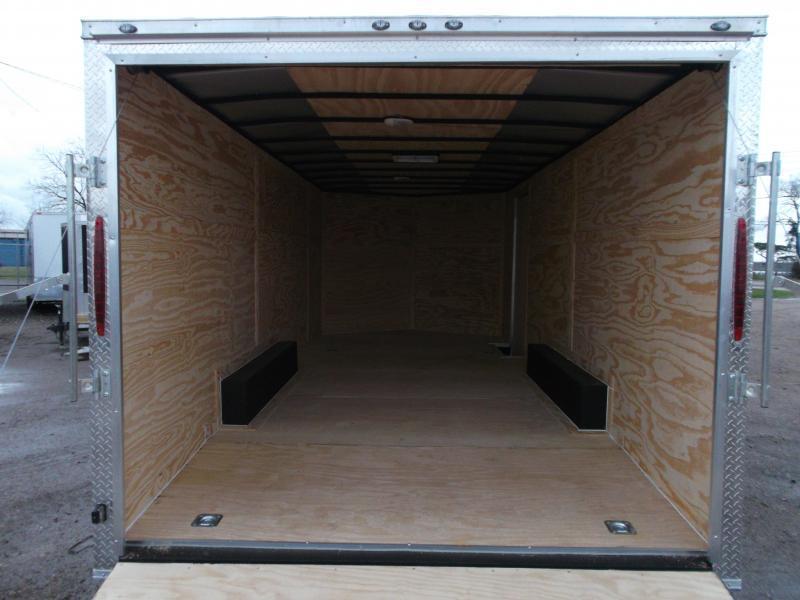 2020 Texas Select 8.5x20 Tandem Axle Cargo Trailer / Car Hauler / 5200# Axles / Heavy Duty Ramp / LEDs