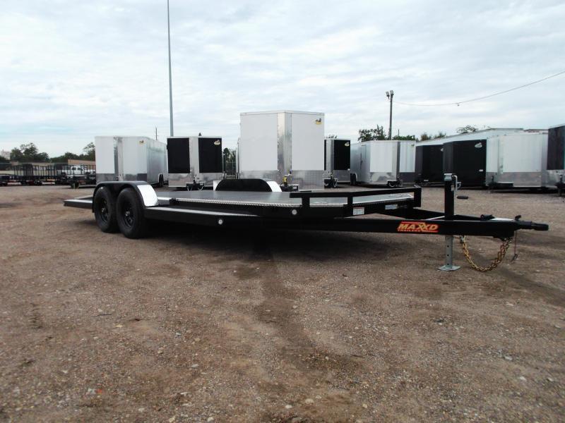 2020 Maxxd 83X20 10K N6X Steel Deck Car Hauler / Racing Trailer / 5200# Axles / Powder Coated / All Tubing Frame / LEDs