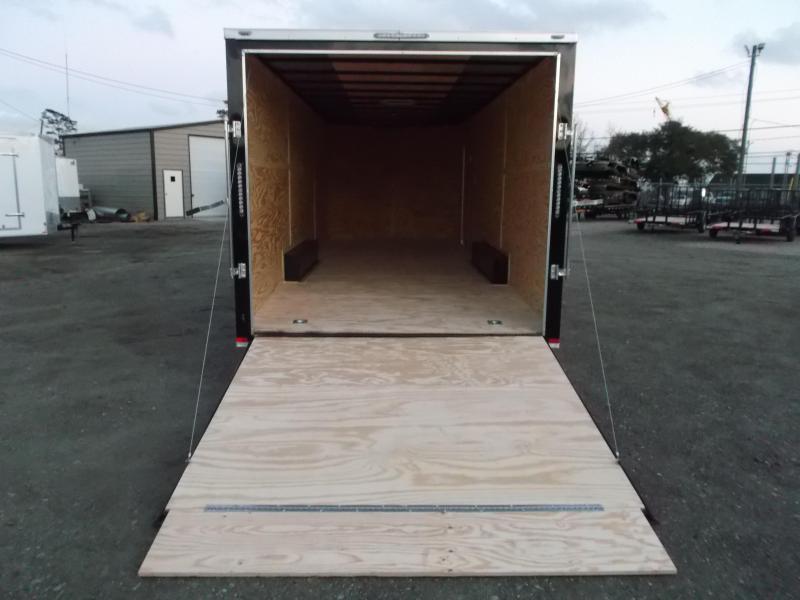 SPECIAL - 2019 Lark 8.5x24 Tandem Axle Cargo Trailer / Enclosed Trailer / Car Hauler / 5200# Axles / Heavy Duty Ramp / LEDs