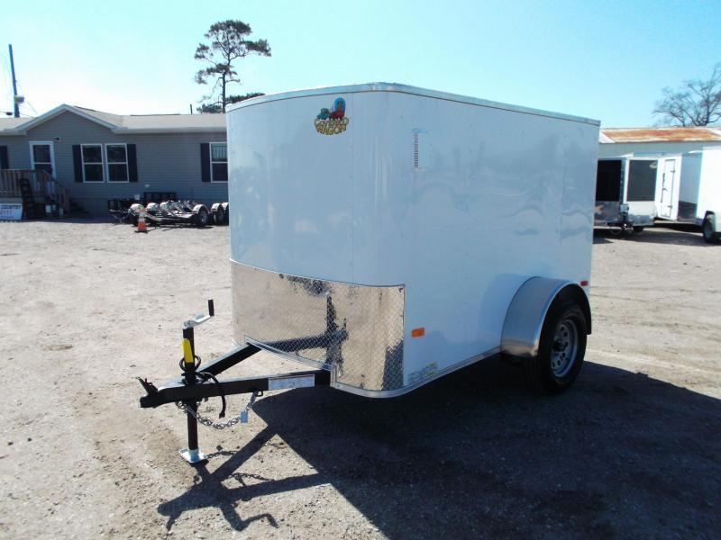 2020 Covered Wagon Trailers 5x8 Single Axle Cargo / Enclosed Trailer w/ Swing Door