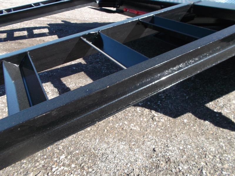 2020 Maxxd 83x20 Steel Deck Car Hauler / Racing Trailer / Powder Coated / 5ft Ramps / 4ft Dovetail / Adj Coupler