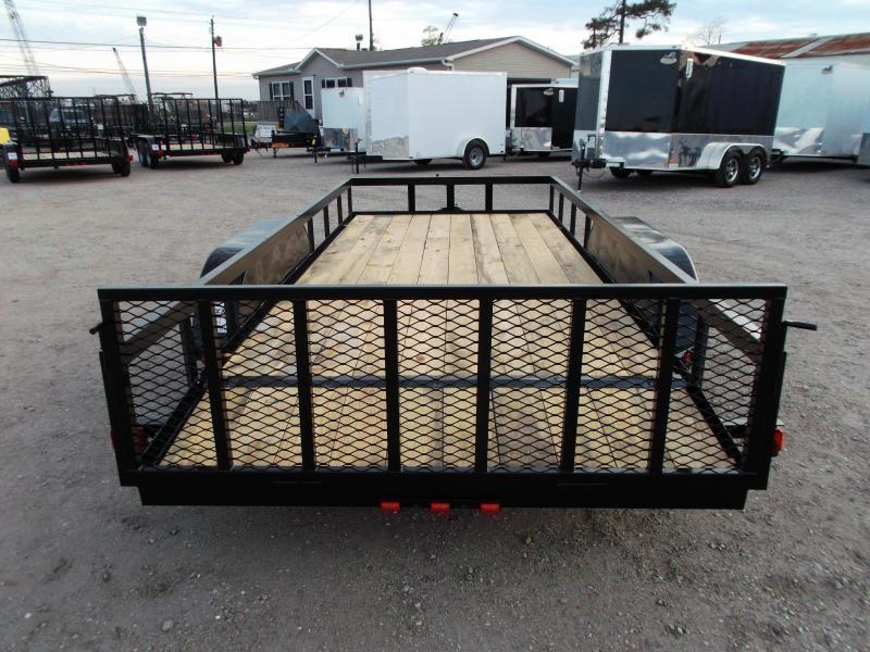 2020 Longhorn Trailers 16ft Utility Trailer / ATV Trailer w/ 2ft Dovetail / 2ft Ramp Gate