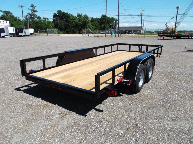2020 Longhorn Trailers 16ft Tandem Axle Utility Trailer