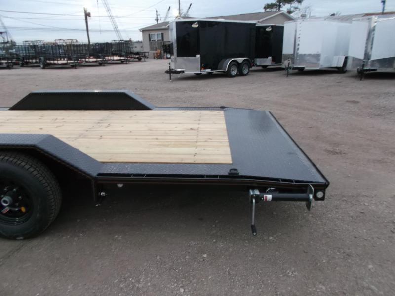 2020 Maxxd 102x24 10K Car Hauler / Flatbed Trailer / Equipment Hauler / Powder Coated / 5200# Axles / Drive Over Fenders