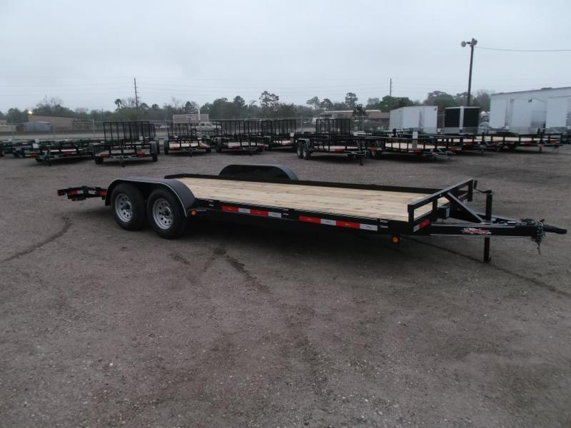 2020 Longhorn Trailers 20ft 7K Car Hauler / Racing Trailer / 2ft Dovetail / 5ft Ramps / Brakes