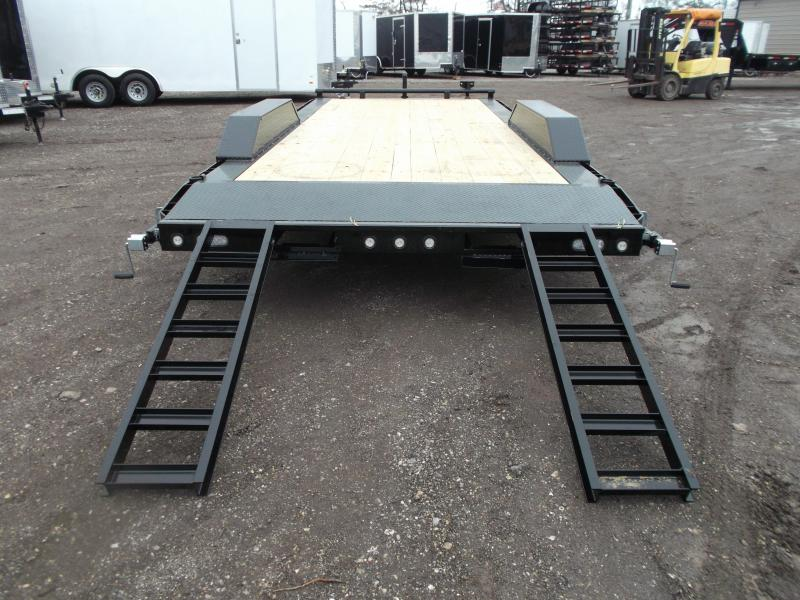 "SPECIAL - 2020 Maxxd 102""x20' 10K Car Hauler / Racing Trailer / Flatbed / Drive Over Fenders / 5200# Axles / Powder Coated / LEDs"