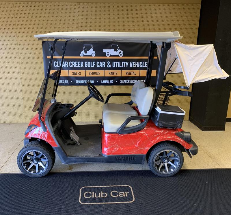 2009 Yamaha YDRE-PTV Golf Cart