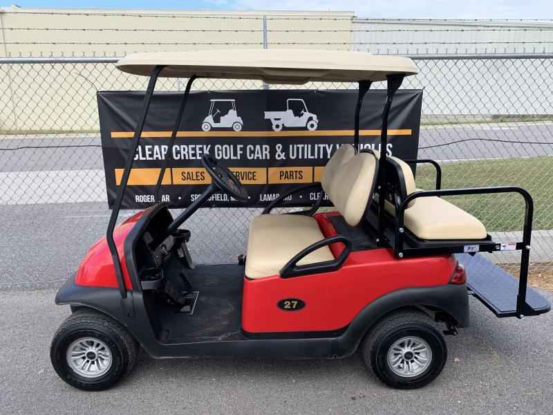 2016 Club Car Precedent Gas EFI Golf Cart