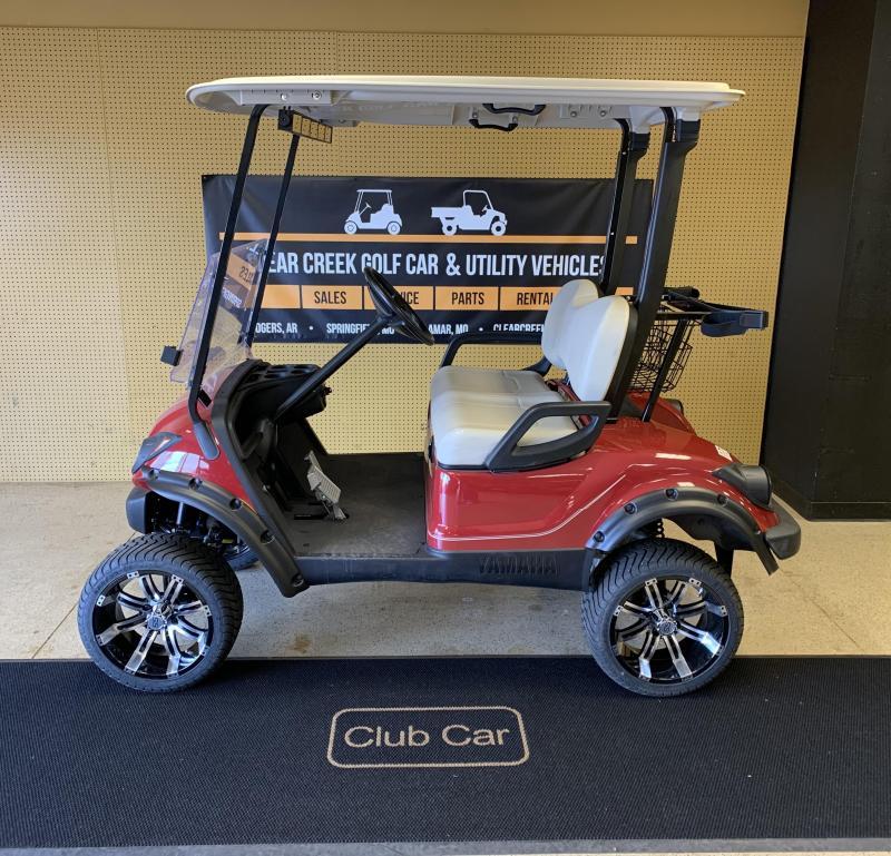 2010 Yamaha YDRE-PTV Golf Cart