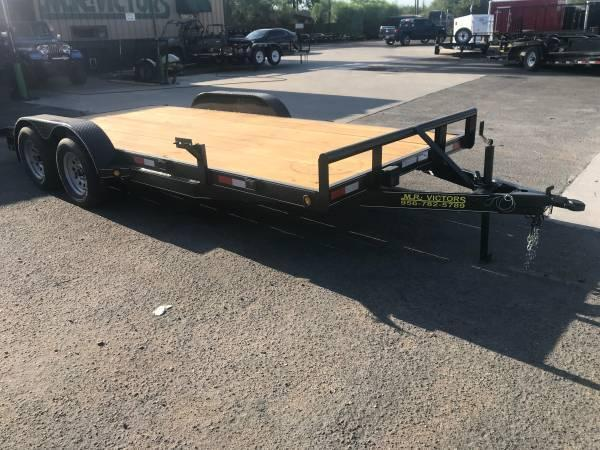 2019 Mr Victors 83 x 18 Car / Racing Trailer