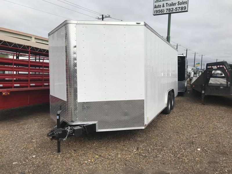 2019 LARK 8.5' X 20' ENCLOSED CARGO TRAILER
