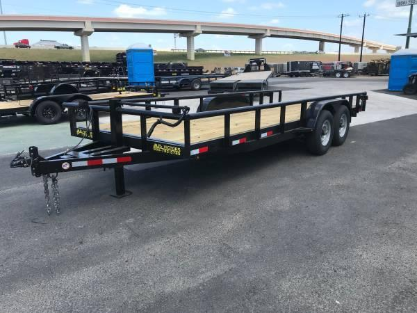 2020 Mr Victors 83 X 20 HD Utility Trailer
