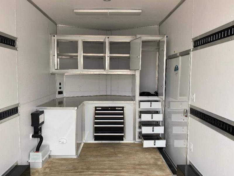 2020 Cargo Mate 8.5' X 16' Enclosed Cargo Trailer