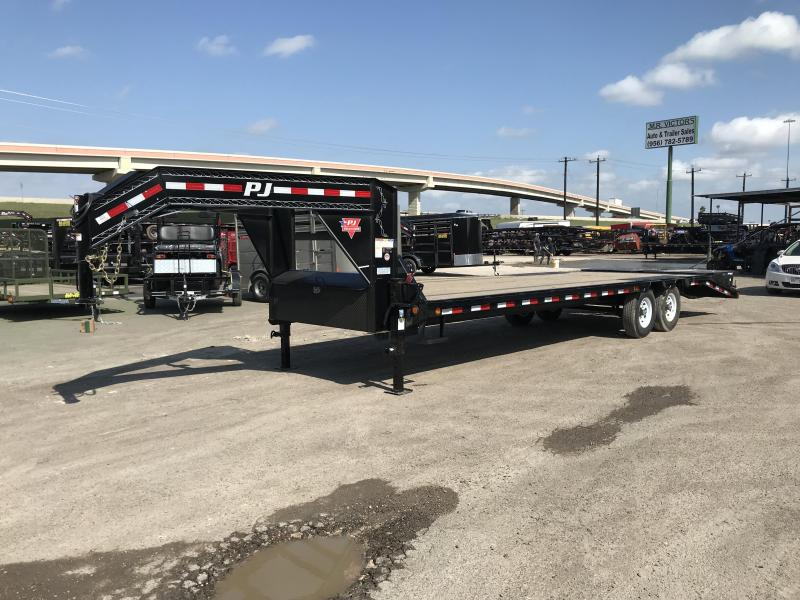 2020 PJ Trailers 102 X 28 Equipment Trailer