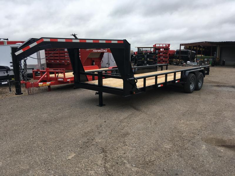 2019 MR VICTORS 83X20 GOOSENECK HD TRAILER
