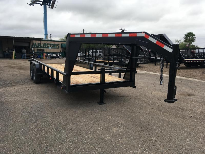 2020 MR VICTORS 83X20 GOOSENECK HD TRAILER