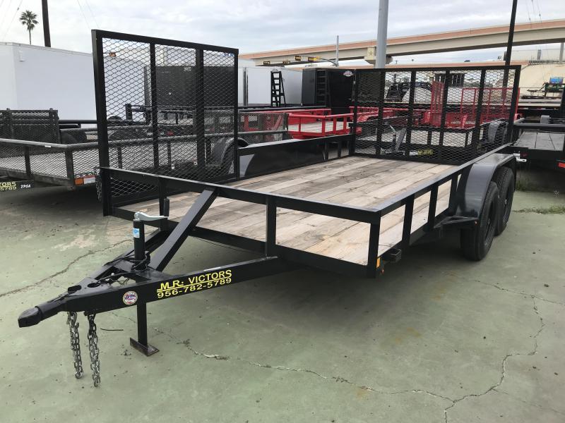 2019 MR VICTORS 82X14 ATV UTILITY TRAILER